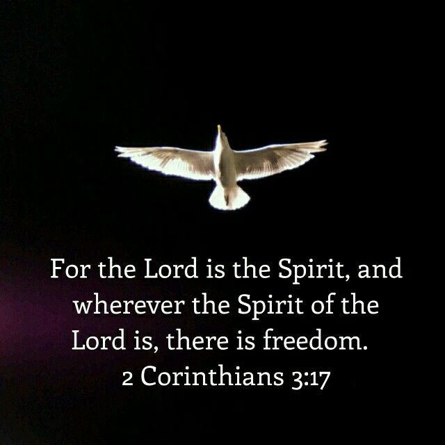 Free Your Mind From Worries Wherever The Spirit Of The Lord Is There Is Freedom Freedom Spirit Mindfulness