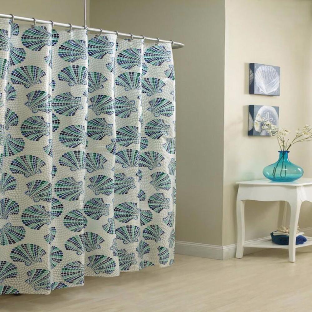 Mosaic Shells Shower Curtain