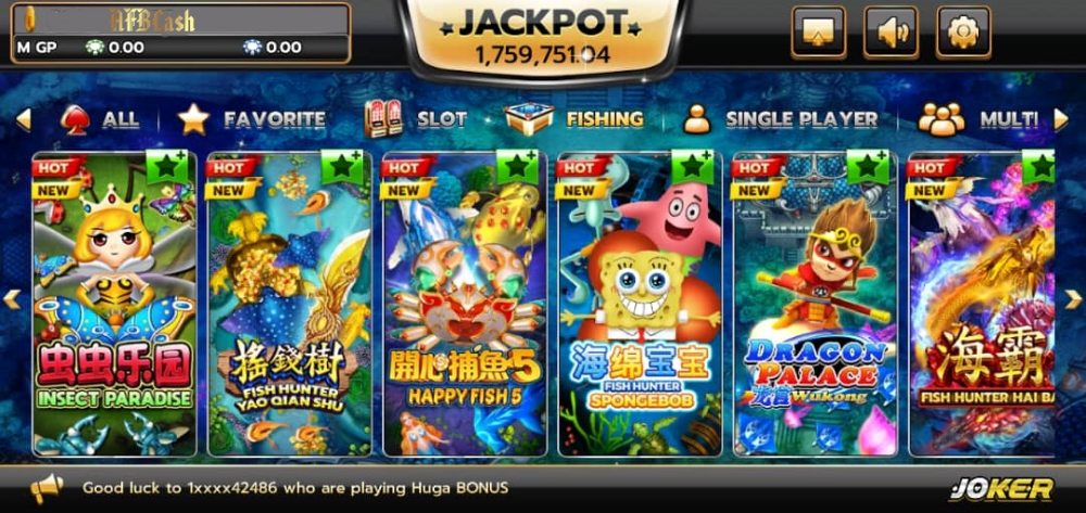 AFBCASH Slot Game  - www.afboffers.com