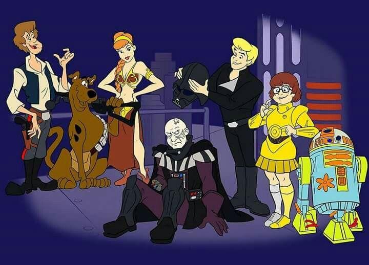 Scooby Doo Meets Star Wars Scooby Doo I Love You