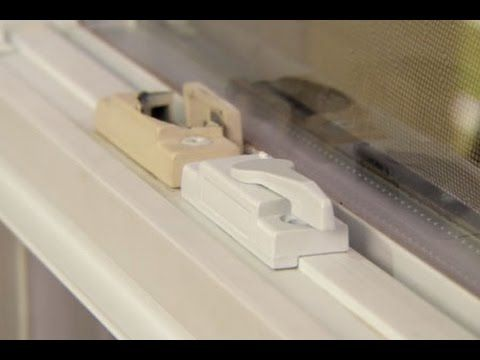 How To Replace The Sash Lock On A Vinyl Window This Old House Diy Home Security