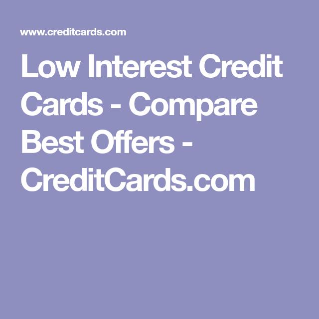 Best Low Interest Credit Cards 2020: Low APR Offers