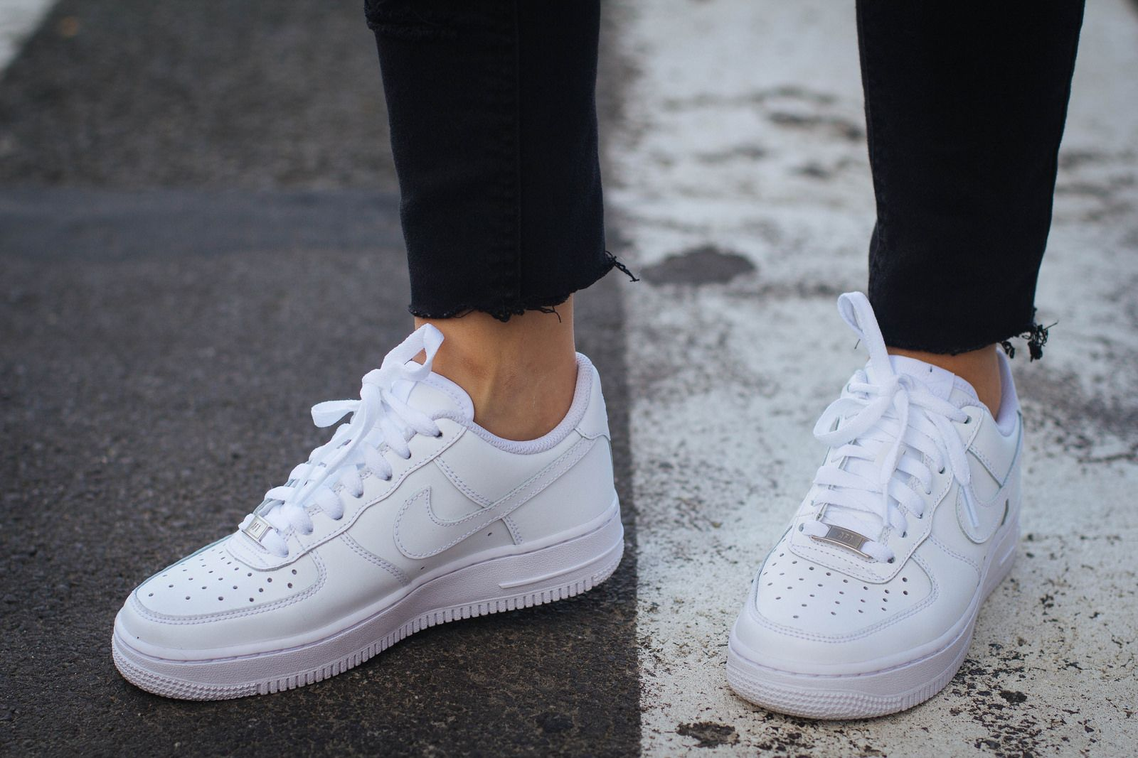 Nike Air Force | On High Heels