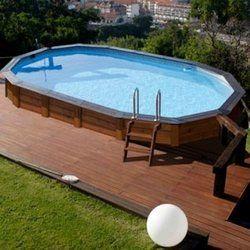 Piscinas de madera elevadas buscar con google futuro for Piscinas desmontables para patios pequenos