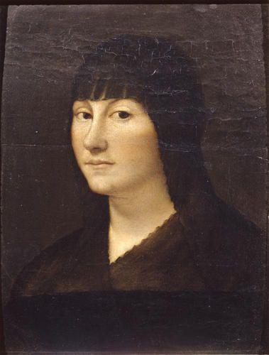 Boltraffio Giovanni Antonio  - Ritratto di donna - 1520-1530 -  Accademia Carrara di Bergamo Pinacoteca