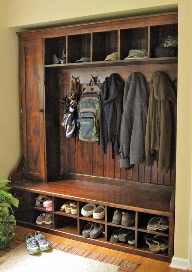 mud room home decor haus und heim garderobe landhaus und ikea garderoben ideen. Black Bedroom Furniture Sets. Home Design Ideas