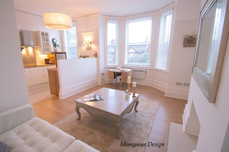Open Plan Kitchen Living Room Small Space Victorian Conversion Apartment Google Search Open Plan Kitchen Living Room Living Room Kitchen Tiny Living Rooms