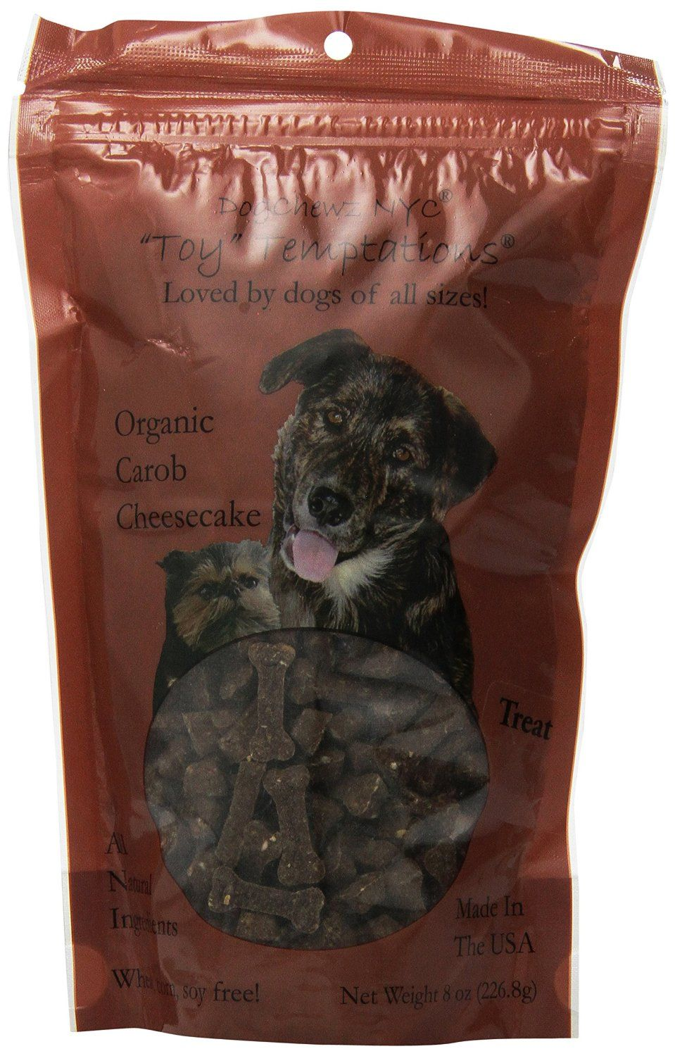 DogChewz NYC Toy Temptations All Natural Dog