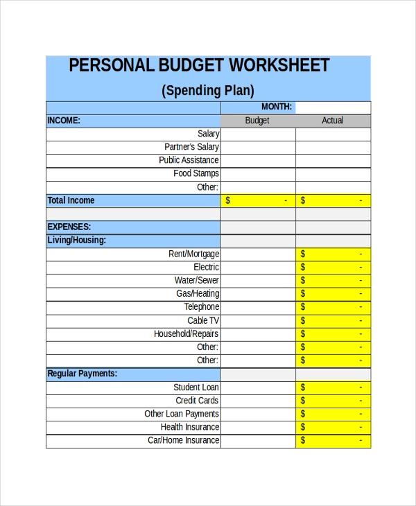 21 Free Sheet Templates Printable Word Excel Pdf Samples