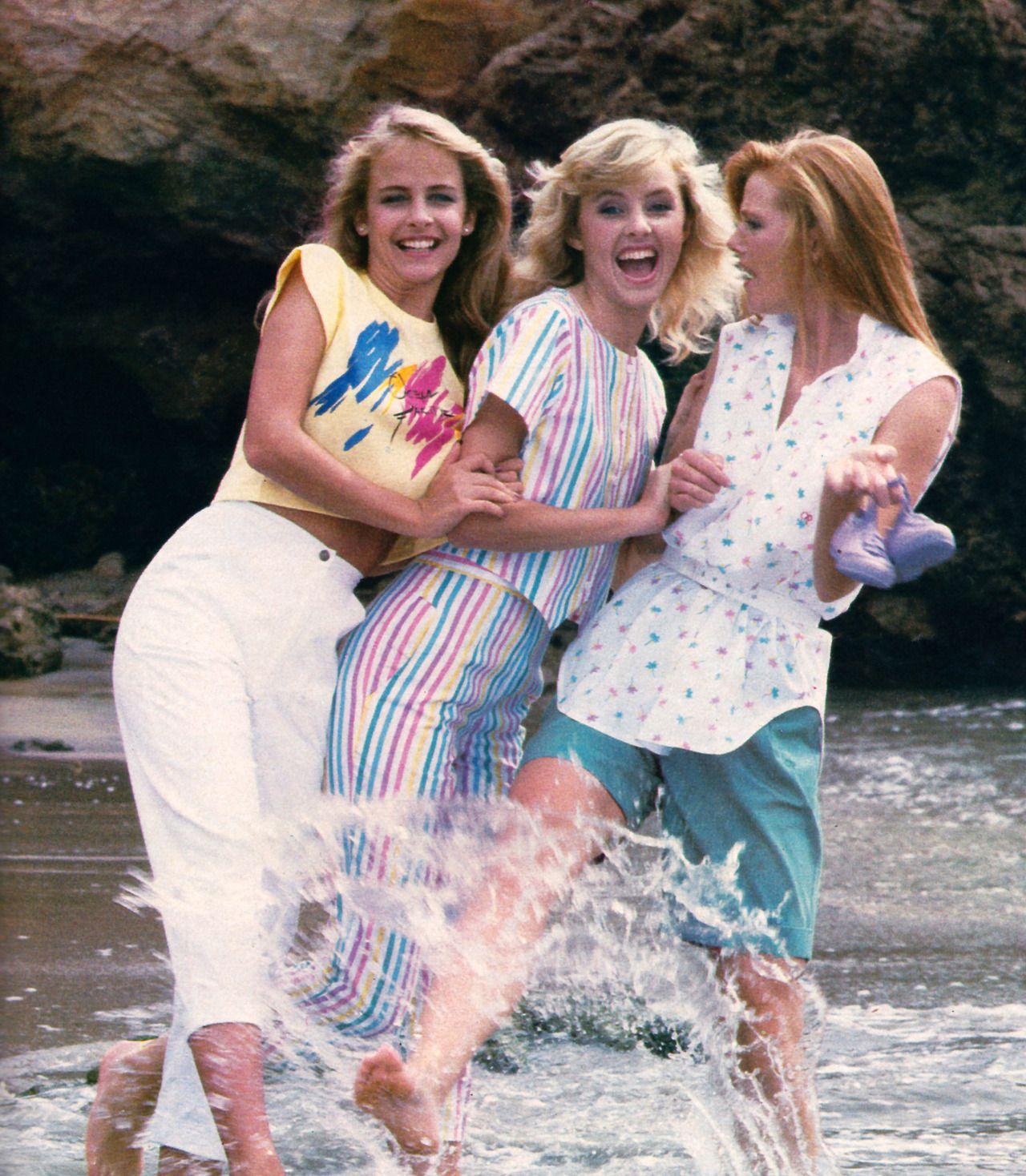 Мagazine Fashion 17 Only Sweet Girls: Senior Year Of High School: Ah, Memories... Ocean Pacfic