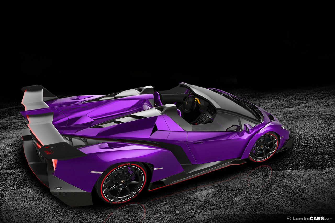 Purple Lamborghini Veneno My Favorite Car Lamborghini S Sports