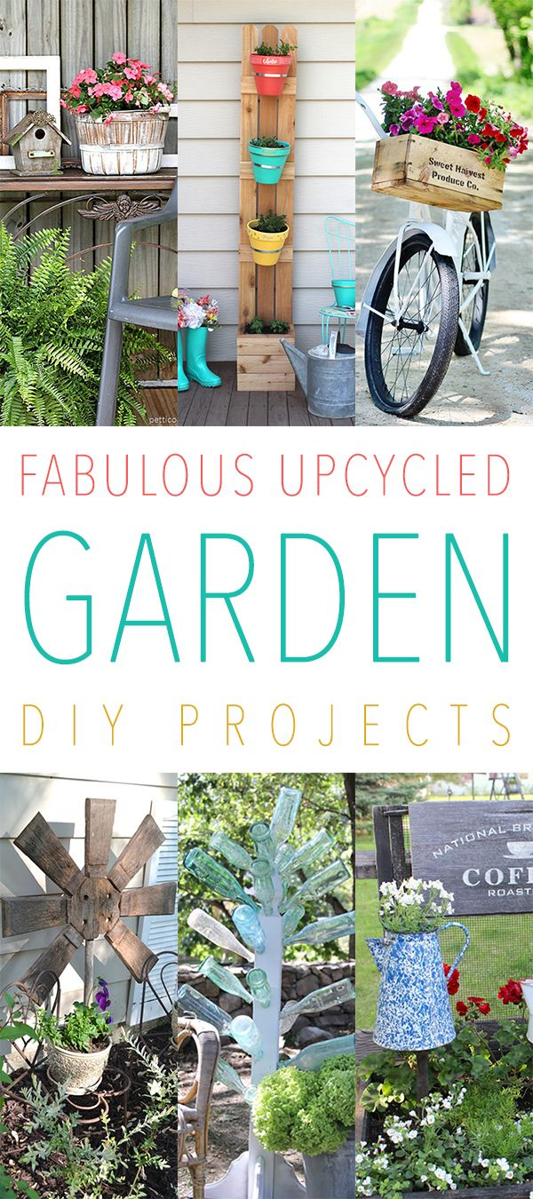 Fabulous Upcycled Garden Diy Projects Rustic Garden 400 x 300