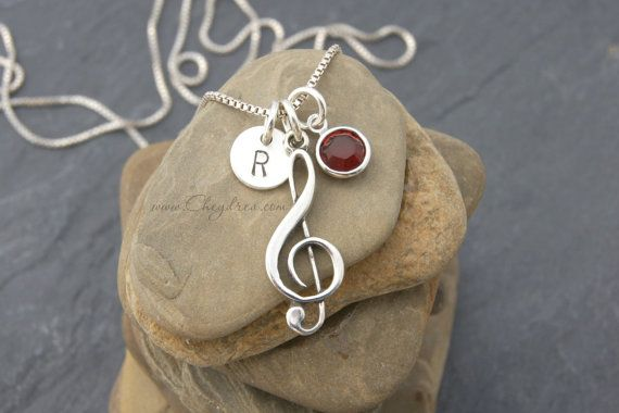 MUSIC GIFT Music Jewelry Musician Gift Music Lover by Cheydrea                                                                                                                                                                                 More