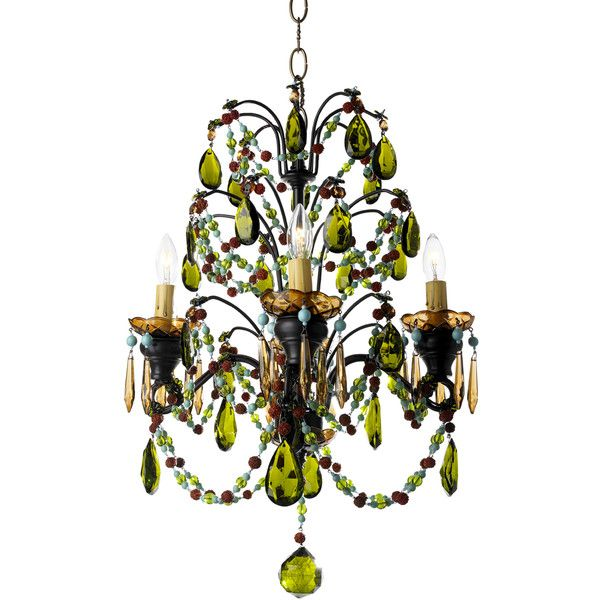 Canopy Designs Jasmine Chandelier ($2,590) ❤ liked on Polyvore ...