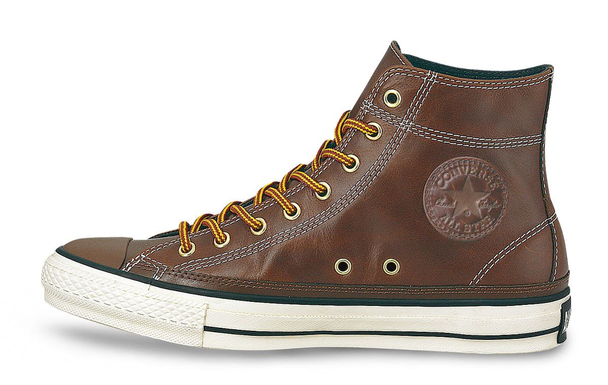 Chuck Taylor :: Converse Japan :: LEATHER ALL STAR OILED HI