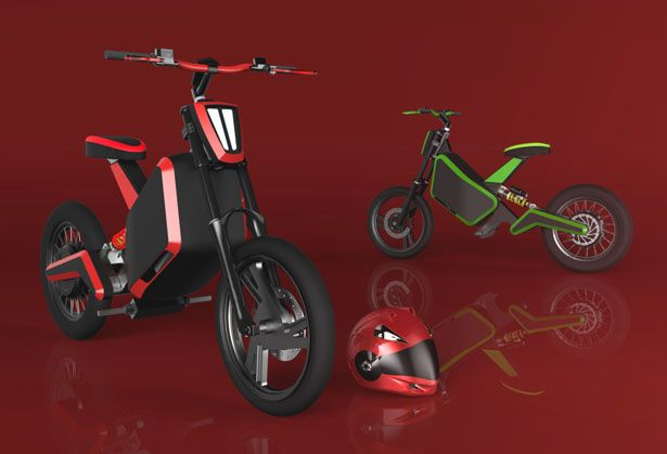 Compact Bruc 01 Electric Motorbike Concept For Urban Areas Electric Motorbike Motorbikes Electric Bike