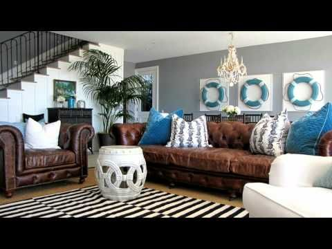 Beach House Design Ideas | Nautical Themed Interior Decorating Ideas    YouTube