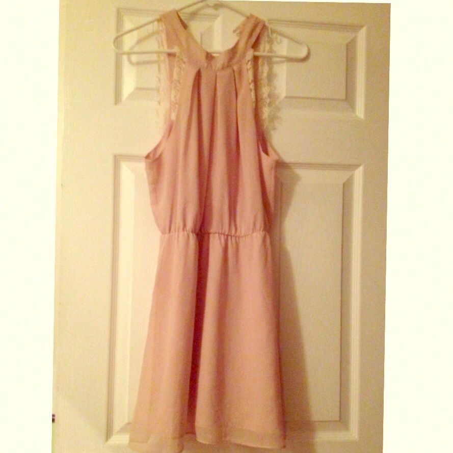 Pink dress forever 21  Forever  Coral Dress With Fringe Decoration  Coral dress and Products