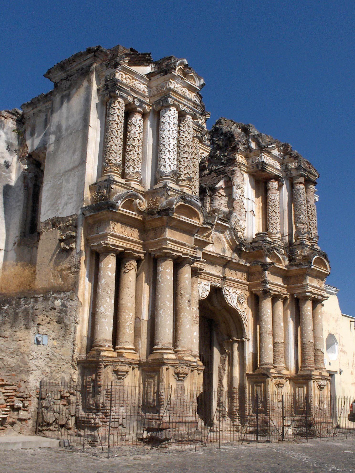 Ruinas de iglesia de nuestra señora del Carmen, Antigua Guatemala