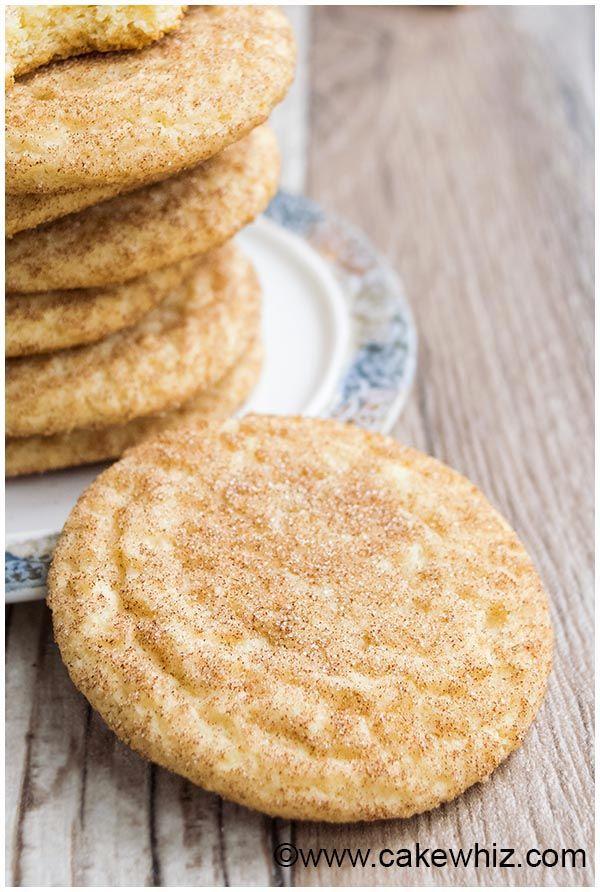 classic snickerdoodles recipe 2 christmas cookies easy Pinterest