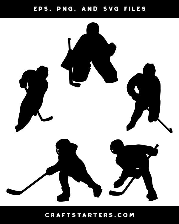 Child Hockey Player Silhouette Clip Art Silhouette Clip Art Boy Silhouette Clip Art