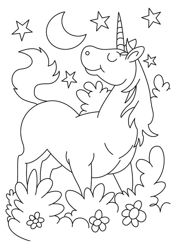 Print Coloring Image Momjunction Unicorn Coloring Pages Cartoon Coloring Pages Valentines Day Coloring Page