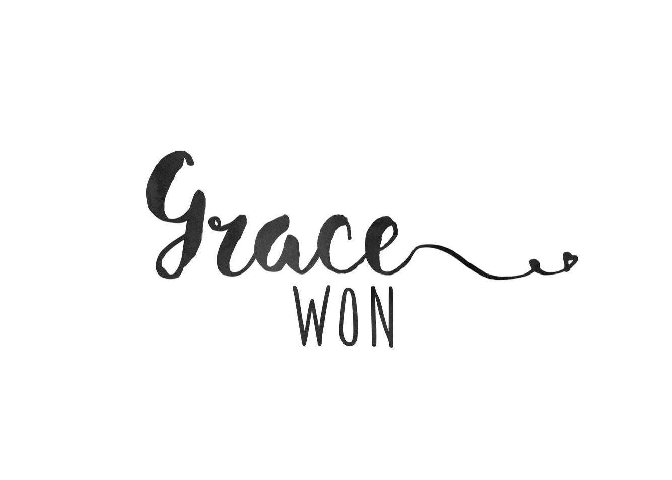 To me grace is the relief, strength, blessings and newness