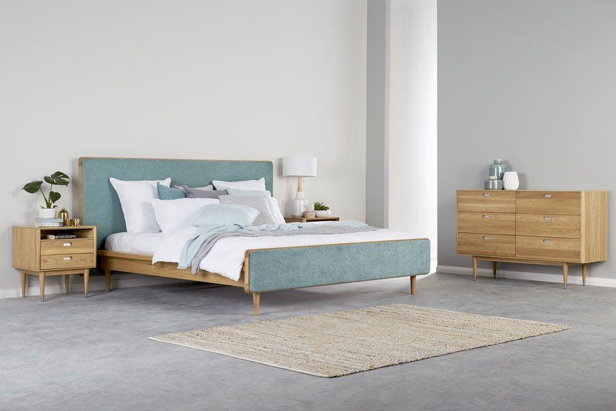 Stockholm King Timber Bed Bedshed Bedroom Furniture Beds