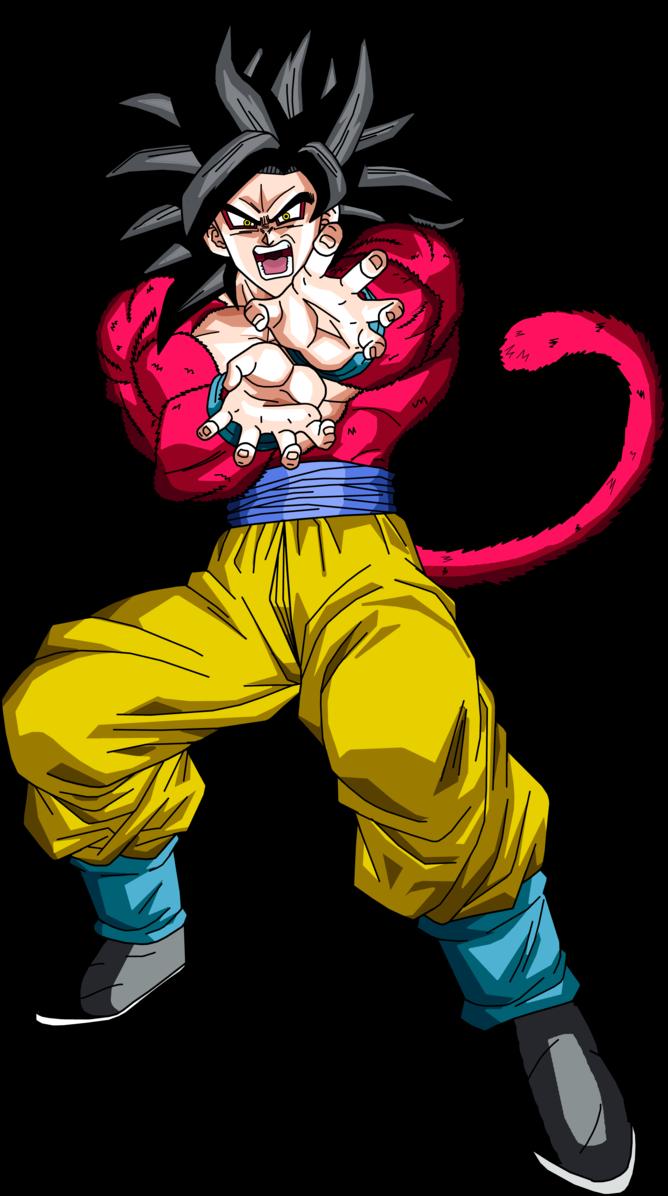 Super Saiyan 4 Goku By Brusselthesaiyan Deviantart Com On