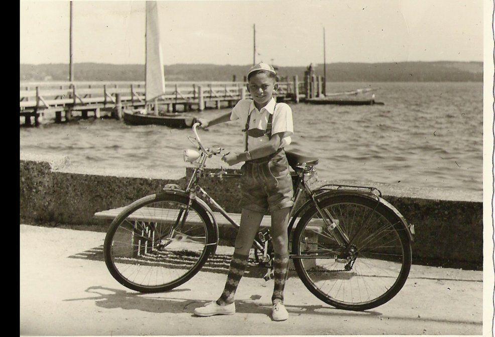 mein erstes Fahrrad - Gersthofen
