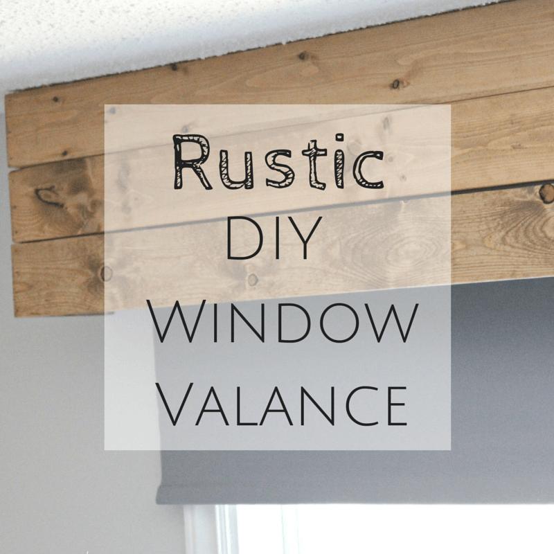 Rustic Diy Window Valance Diy Projects Wood Valance