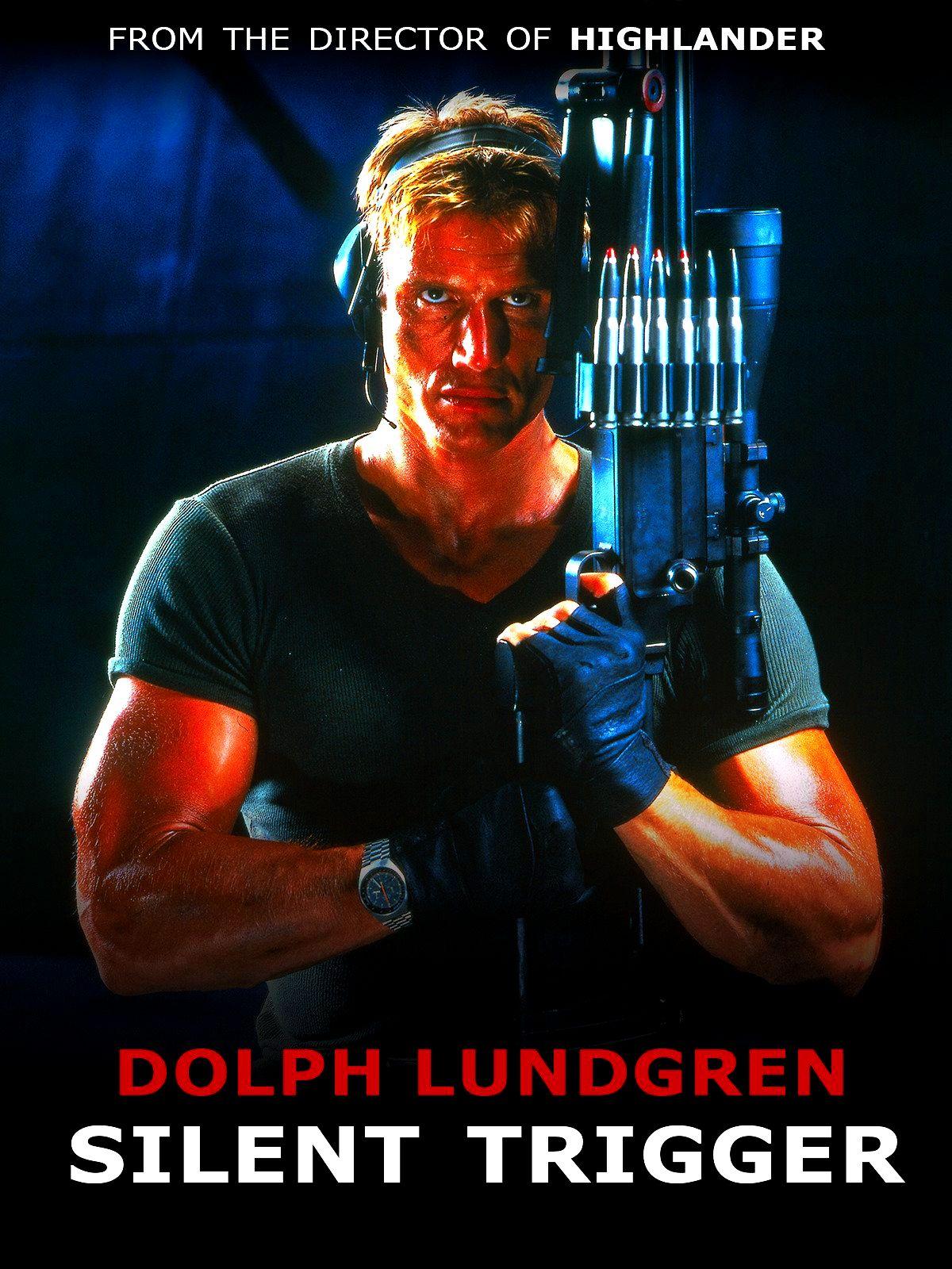 Silent Trigger Dolph Lundgren 90 S Movie Cover Art Repin Haarschnitt Manner Haarschnitt Mann