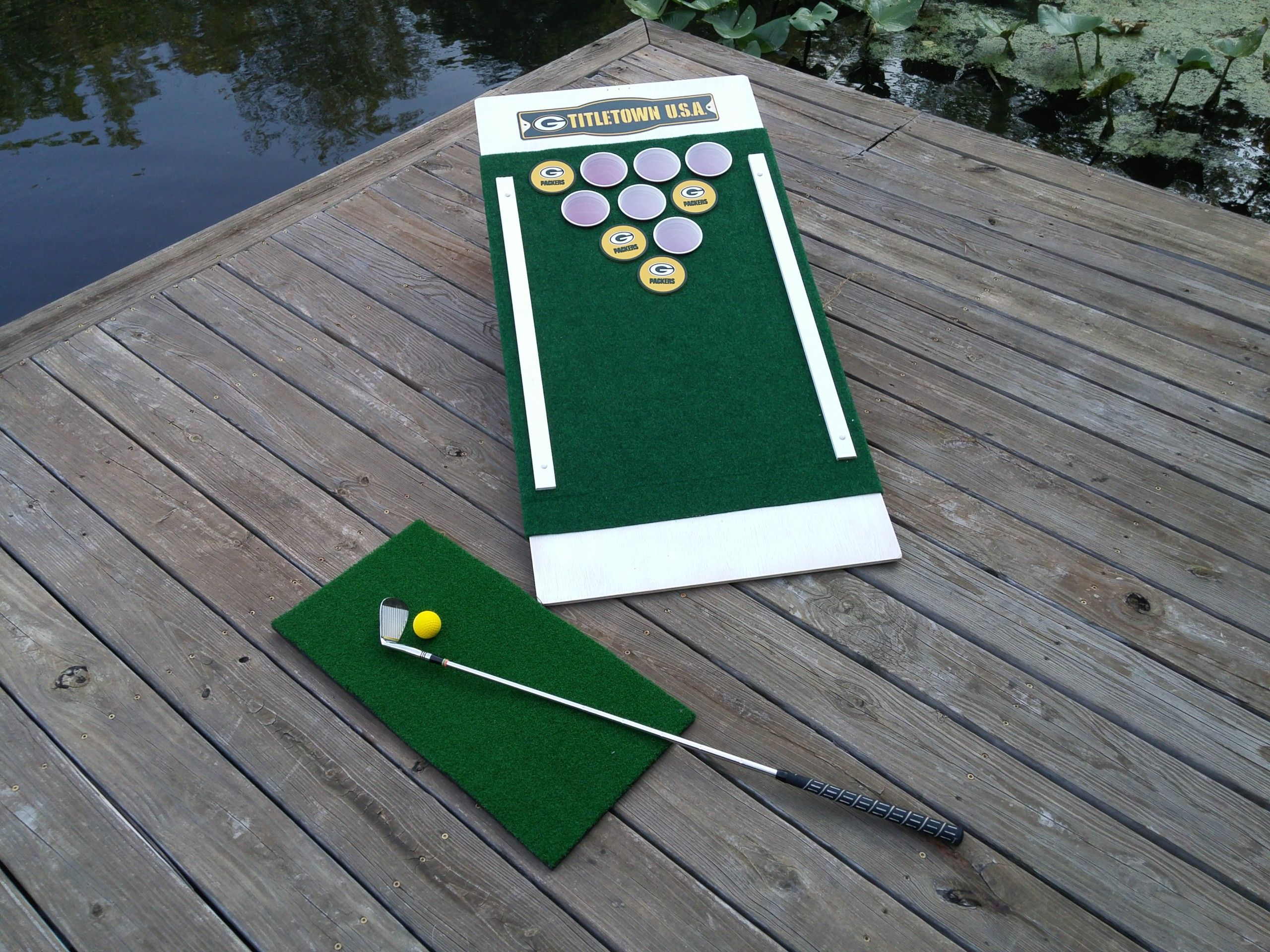 Beer Pong Golf Drinking Game Golf drinking game