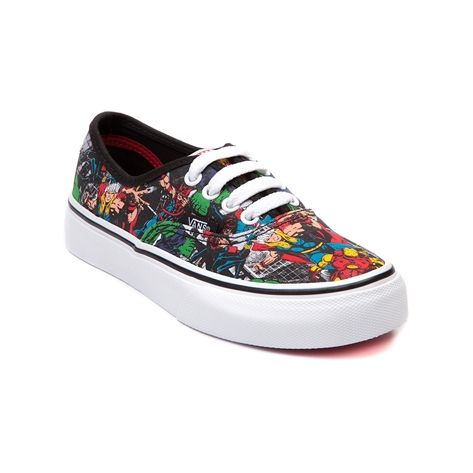 19fa9e518c8975 Shop for Youth Vans Authentic Avengers Skate Shoe