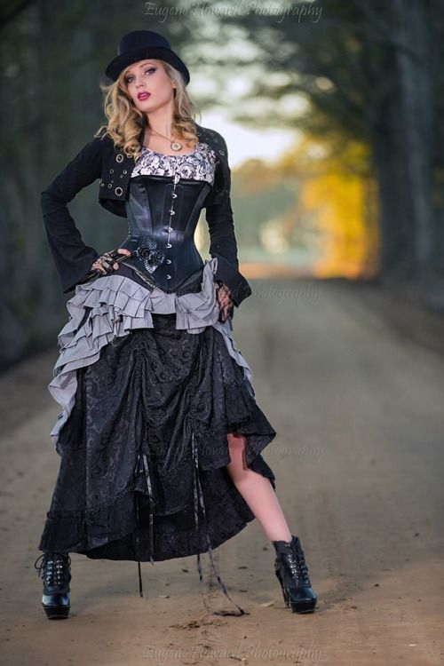 Steampunk beauty Photographer - Geno Howard Corset - brute-force-studios Ruffle Skirt - steamgirlofficial Long Skirt & Jacket - Lip Service Shoes - Hades Footwear Steel Roses - http://www.madtinkermetal.com/ MUAH & Styling - Me (Amy Wilder) #coupon code nicesup123 gets 25% off at www.Provestra.com and www.leadingedgehealth.com