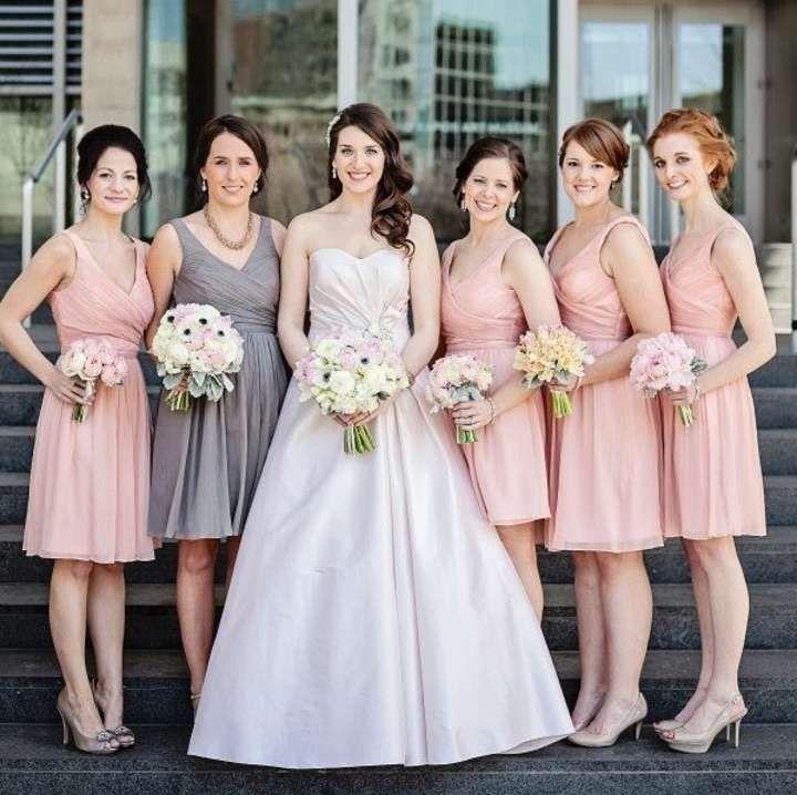 15786ba9027c Misty Rose J.Crew   Wedding   Bridesmaid dresses, Pink bridesmaid ...