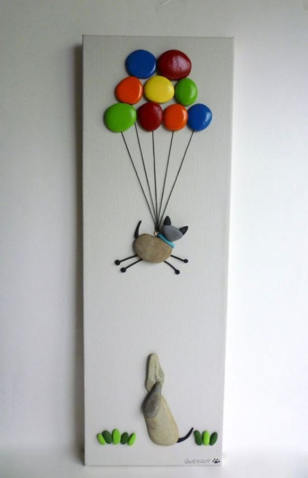 40 Rock and Pebble Art Ideas #kreativehandwerke