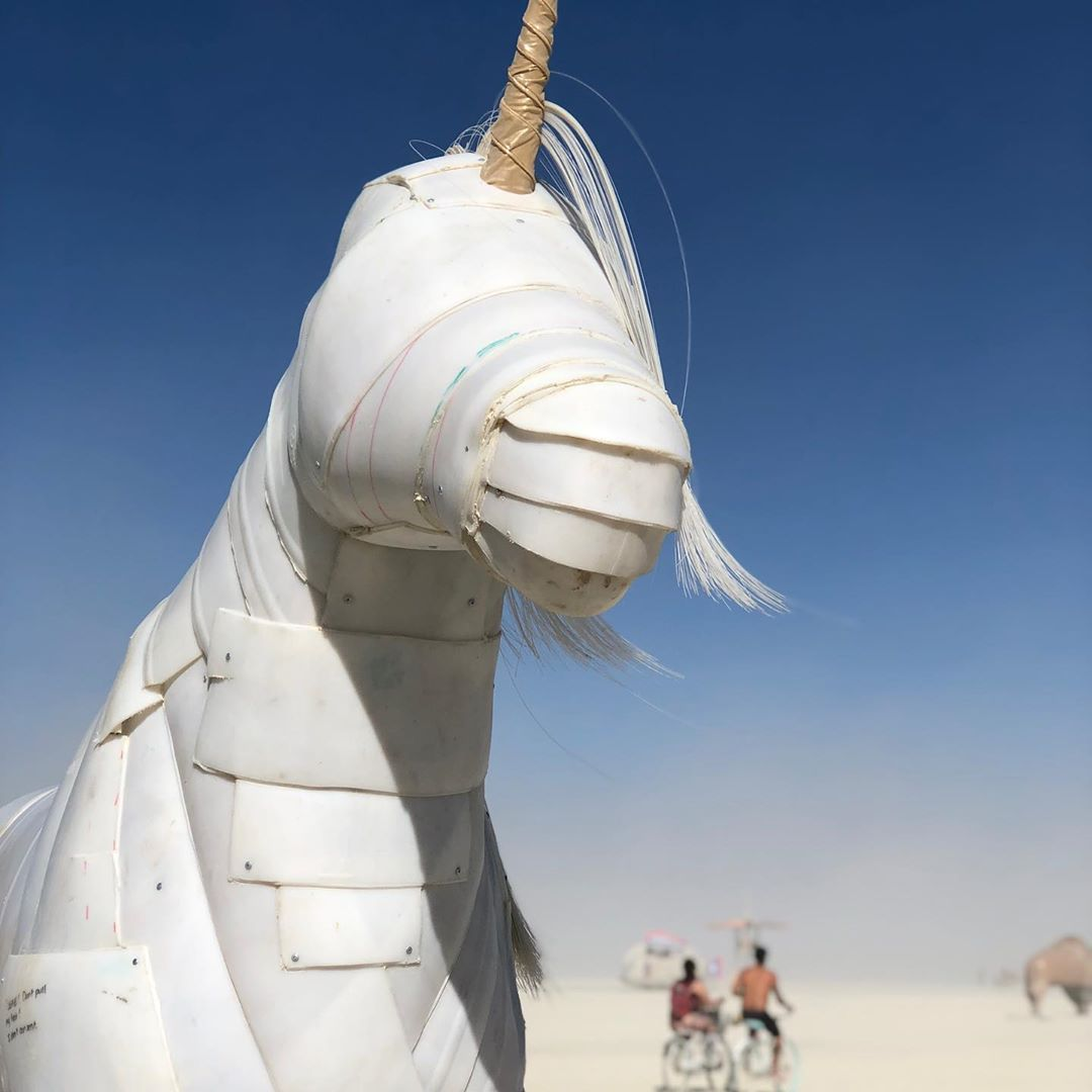 See 70,000 people gather in Nevada desert for Burning Man