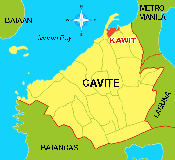 This Is The Map Of Cavite Cavite Consumer Culture Pinterest