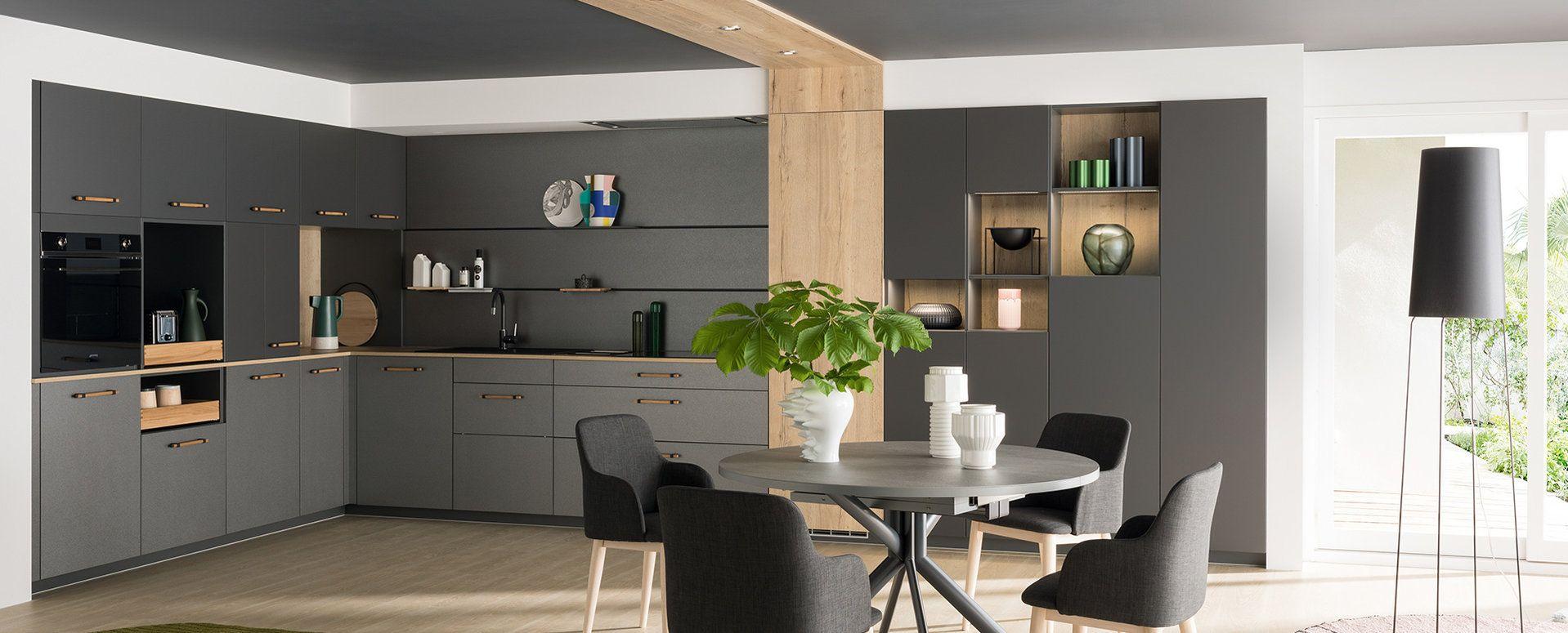 Ambiance Mediane Cuisine Moderne Cuisine Appartement Et Meuble