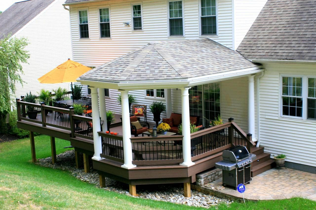 Best 5 Ideas For Covering Your Deck Deck Designs Backyard Building A Deck Patio Gazebo