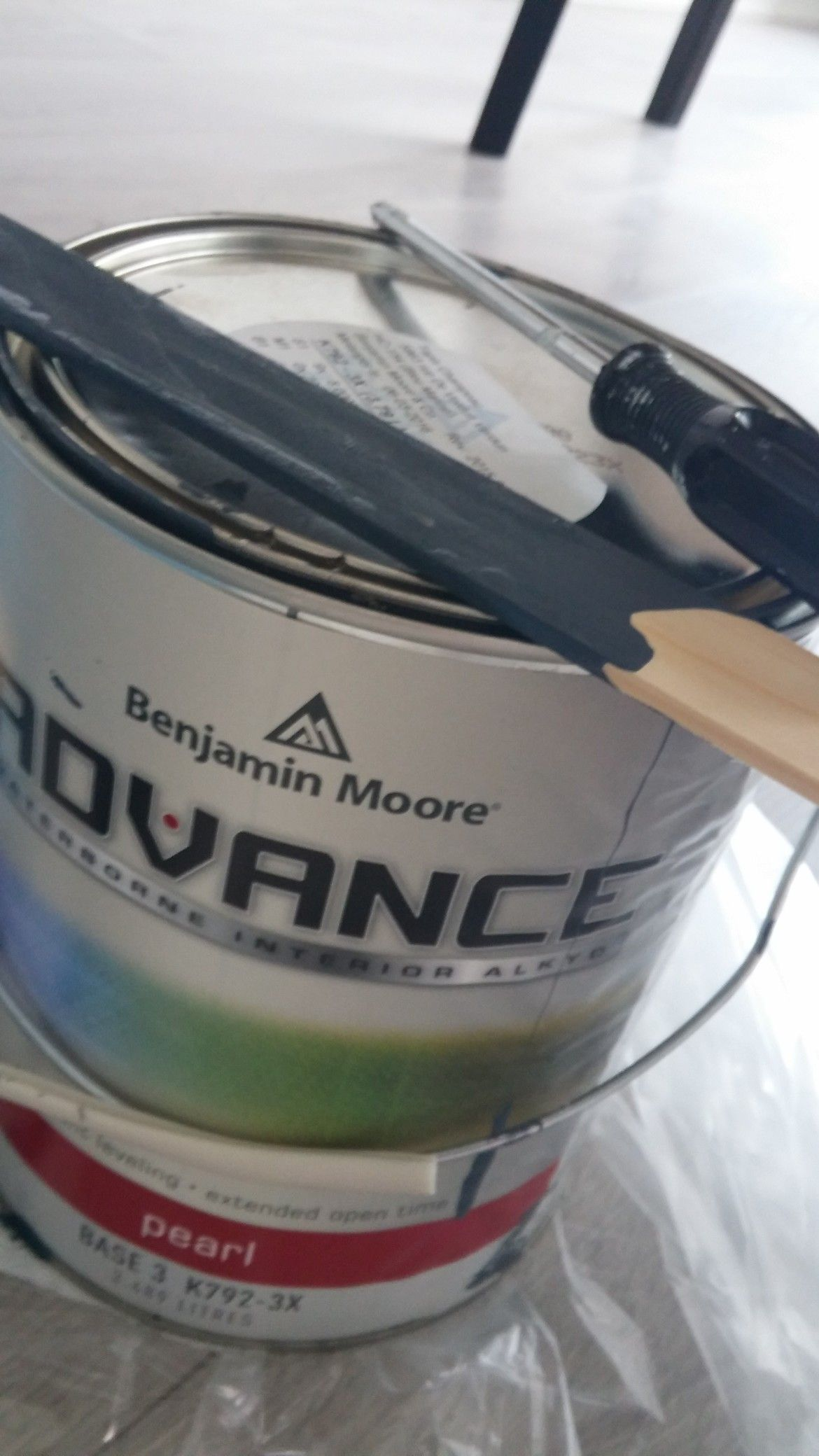 Benjamin Moore Advance Melamine Paint in Hale Navy (requires a primer for Melamine) #halenavybenjaminmoore Benjamin Moore Advance Melamine Paint in Hale Navy (requires a primer for Melamine) #halenavybenjaminmoore
