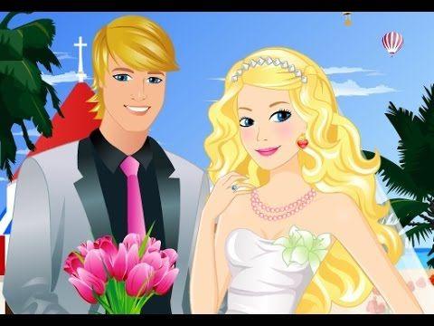 باربي الاميرة الاستعداد لحفل زواج باربي العاب كرتون كاملة 2015 Barbie Wedding Aurora Sleeping Beauty Wedding Prep