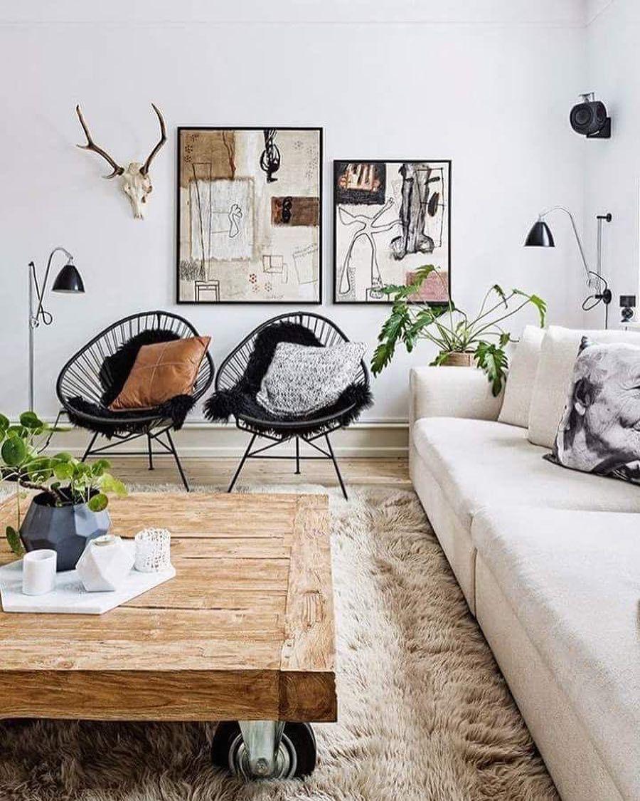 """243 """"Μου αρέσει!"""", 3 σχόλια - Dailydreamdecor (@dailydreamdecor) στο Instagram: """"Modern boho living room ❤"""""""