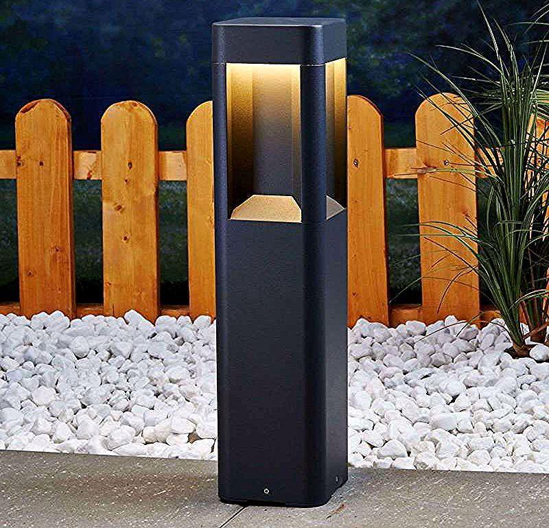 Led Borne Eclairage Exterieur Annika En Aluminium Lampenwelt Pillar Lights Bollard Lighting Led Garden Lights