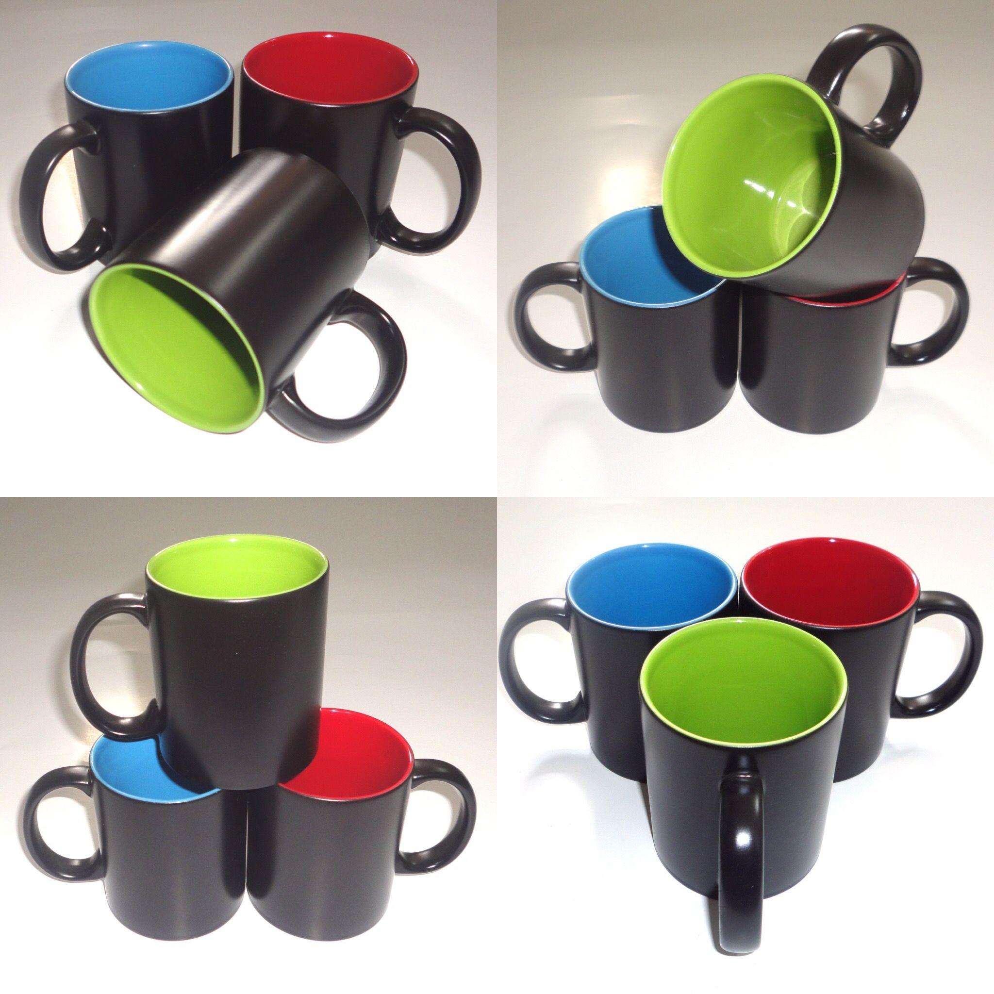 97dbaea84d8 11oz inner color outside black magic mug | sublimation mugs and ...