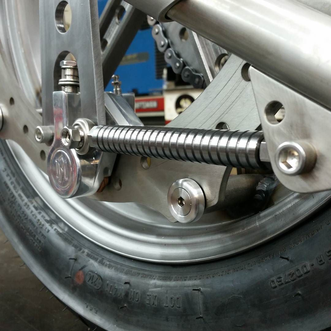 Made Up A Brake Stay And Mount For The Shovelhead Project