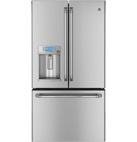 Exceptionnel GE Café™ Series 23.1 Cu. Ft. Counter Depth French Door Refrigerator |  CYE23TSDSS