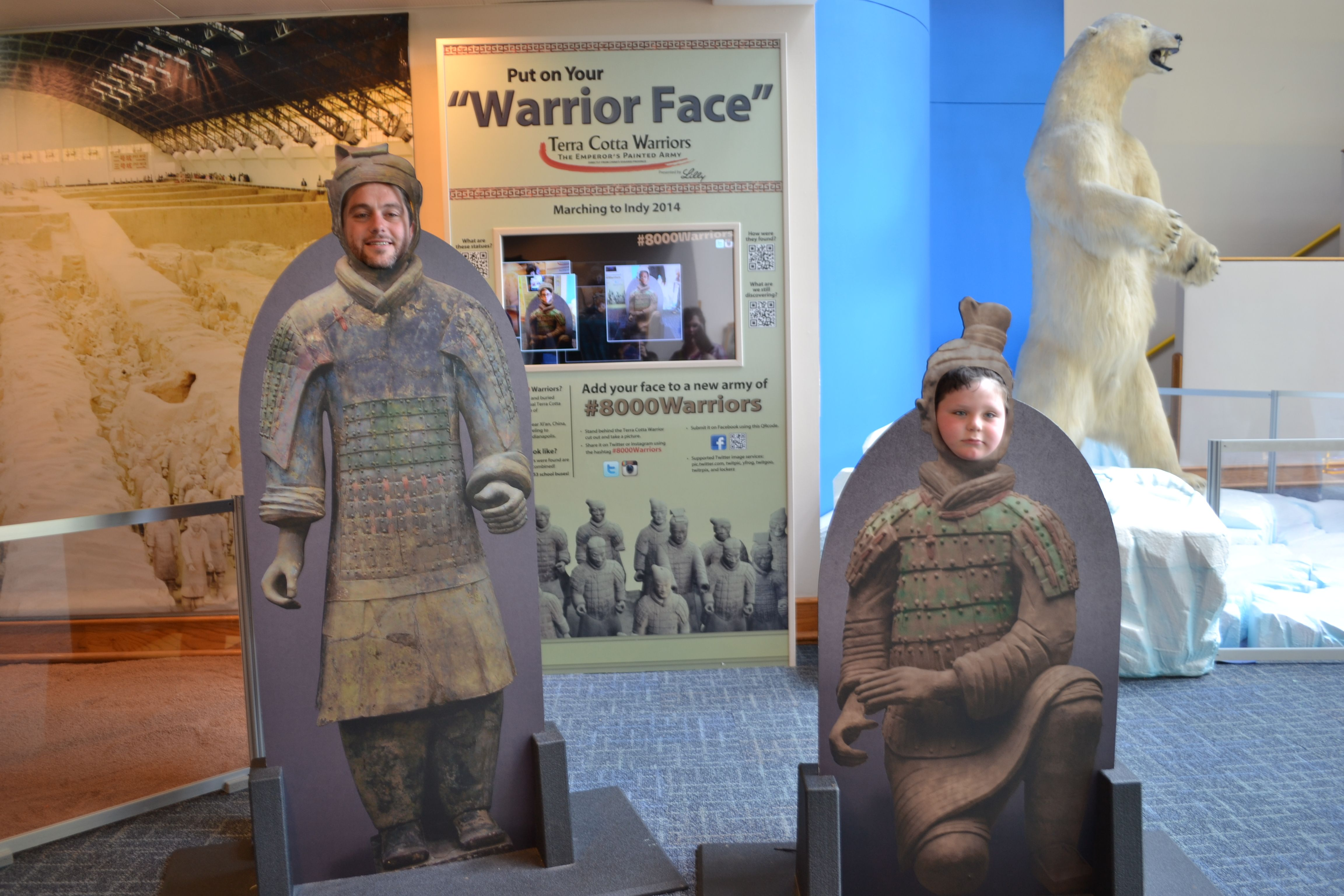 """""""Warriors"""" from the Indianapolis Children's Museum"""