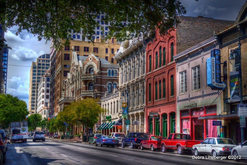 Sixth Street in Austin, Texas Magnolia realty, Street